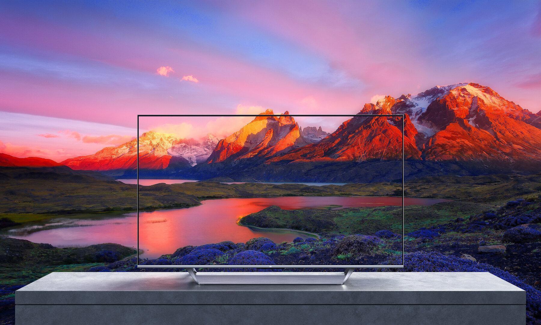 Xiaomi Mi Q1 Tv 4k 120hz Qled Hdmi 2.1 Landscape