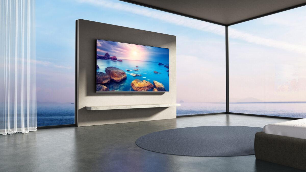 Xiaomi Mi Q1 Tv 4k 120hz Qled Hdmi 2.1 Wall