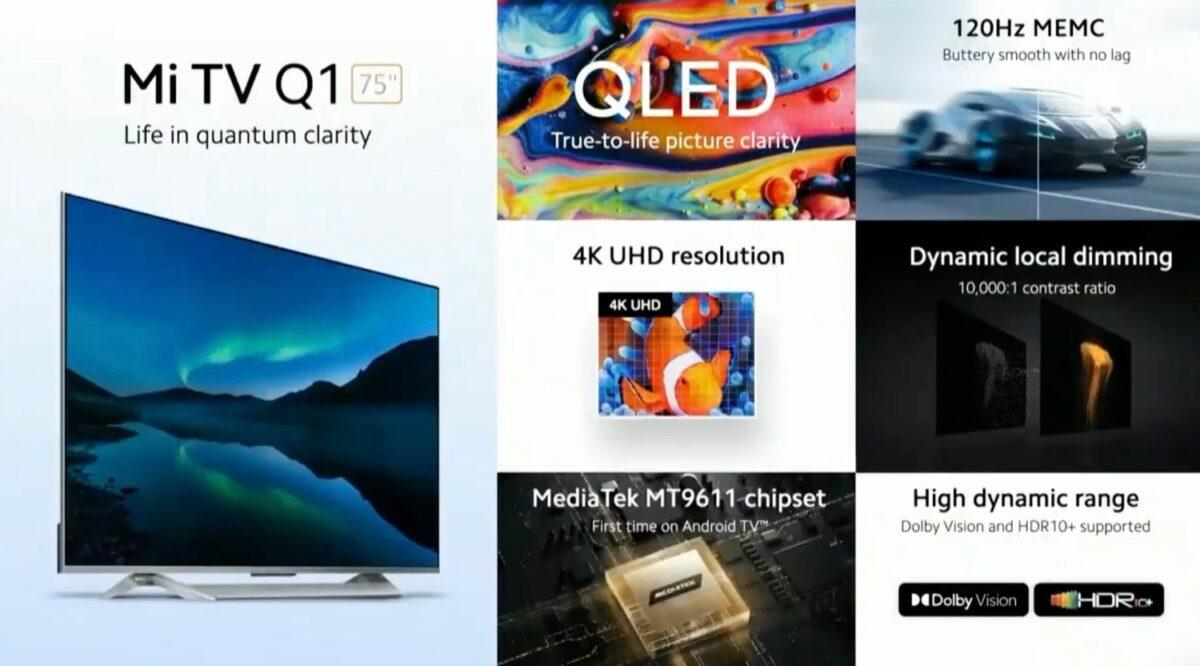 Xiaomi Mi Tv Q1 Marketing