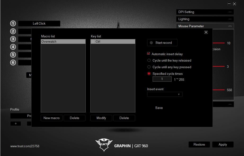 Trust Driver Ui Interface Macro Gxt 960 Graphin