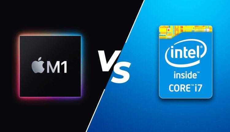 Apples M1 Vs Intel I7