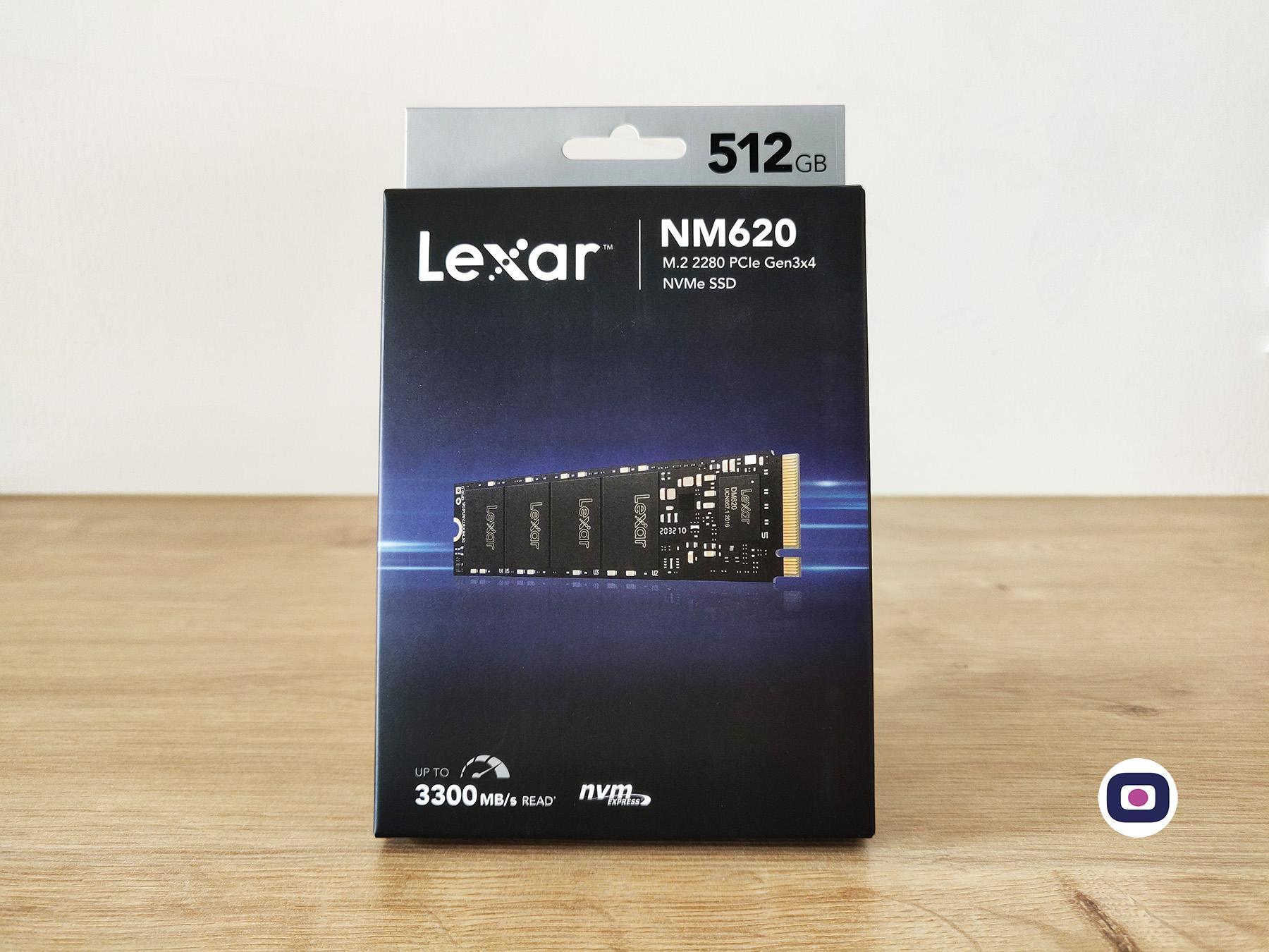 Lexar Ssd Nm620 Box Packaging 512 Omgpu Test