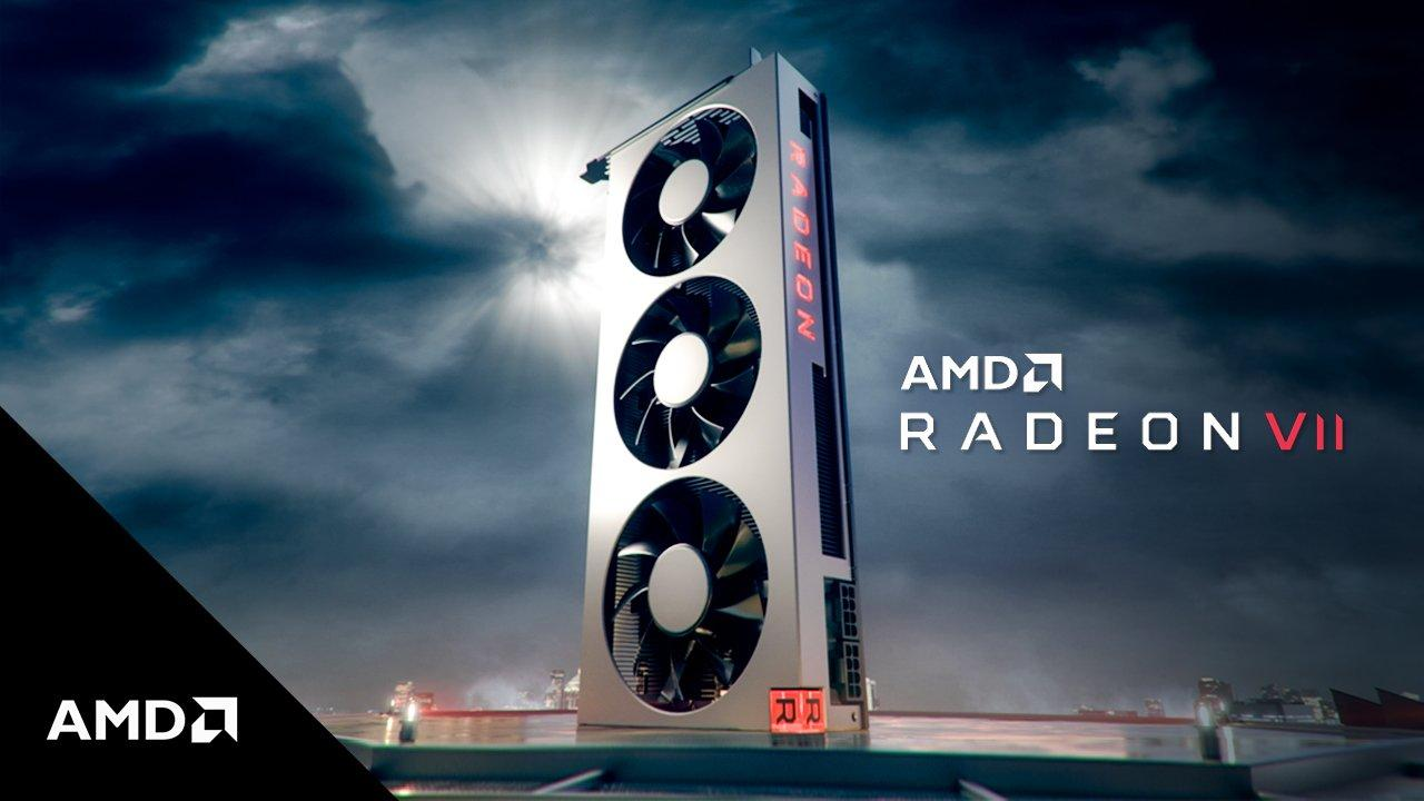 Amd Radeon Vii Card