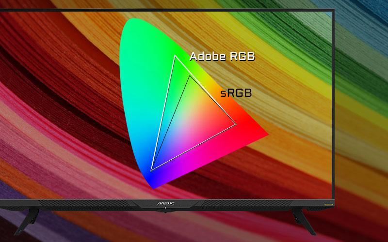 Aorus 4k Gaming Monitors Ecran Pc Hdmi 2.1 4k Adobe Color