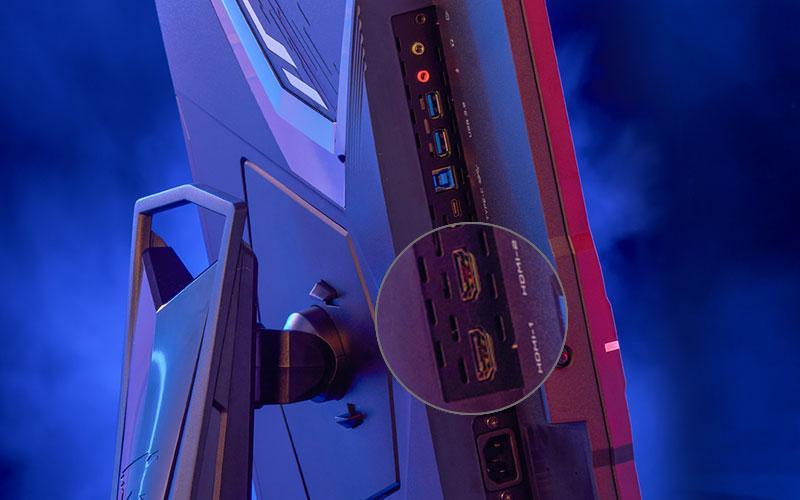 Aorus 4k Gaming Monitors Ecran Pc Hdmi 2.1 4k Ports