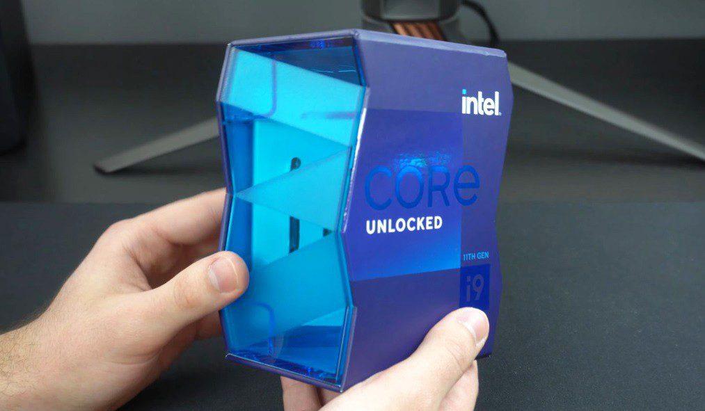 Intel Core I9 11900k Unboxing