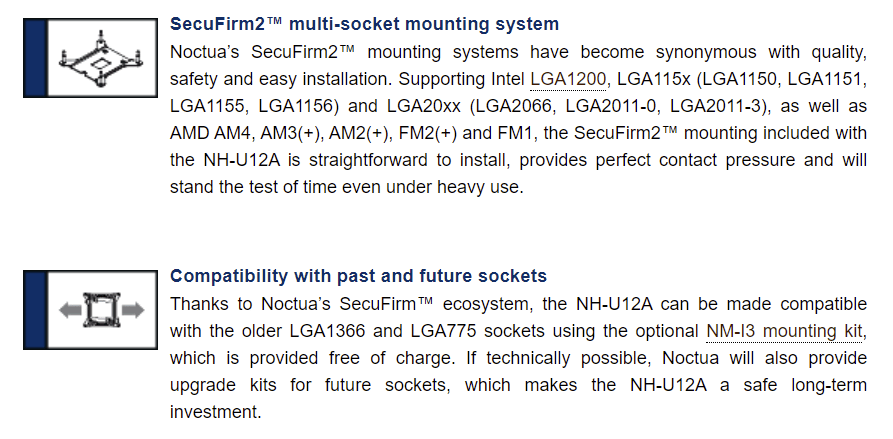 Noctua On Next Gen Sockets Lga 1700