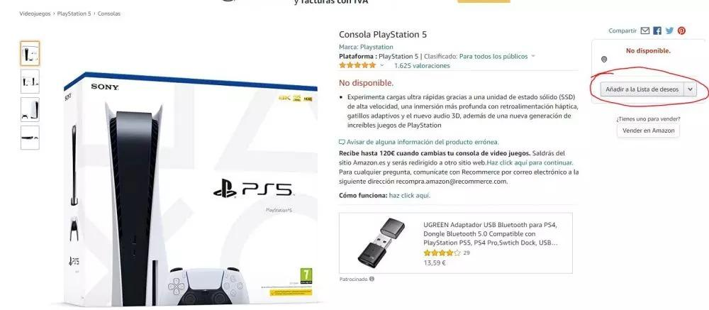 Ps5 Stock Amazon Standard