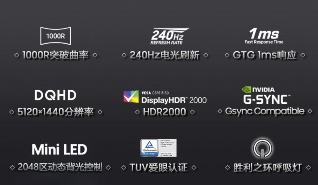 Samsung G9 2021 Specification