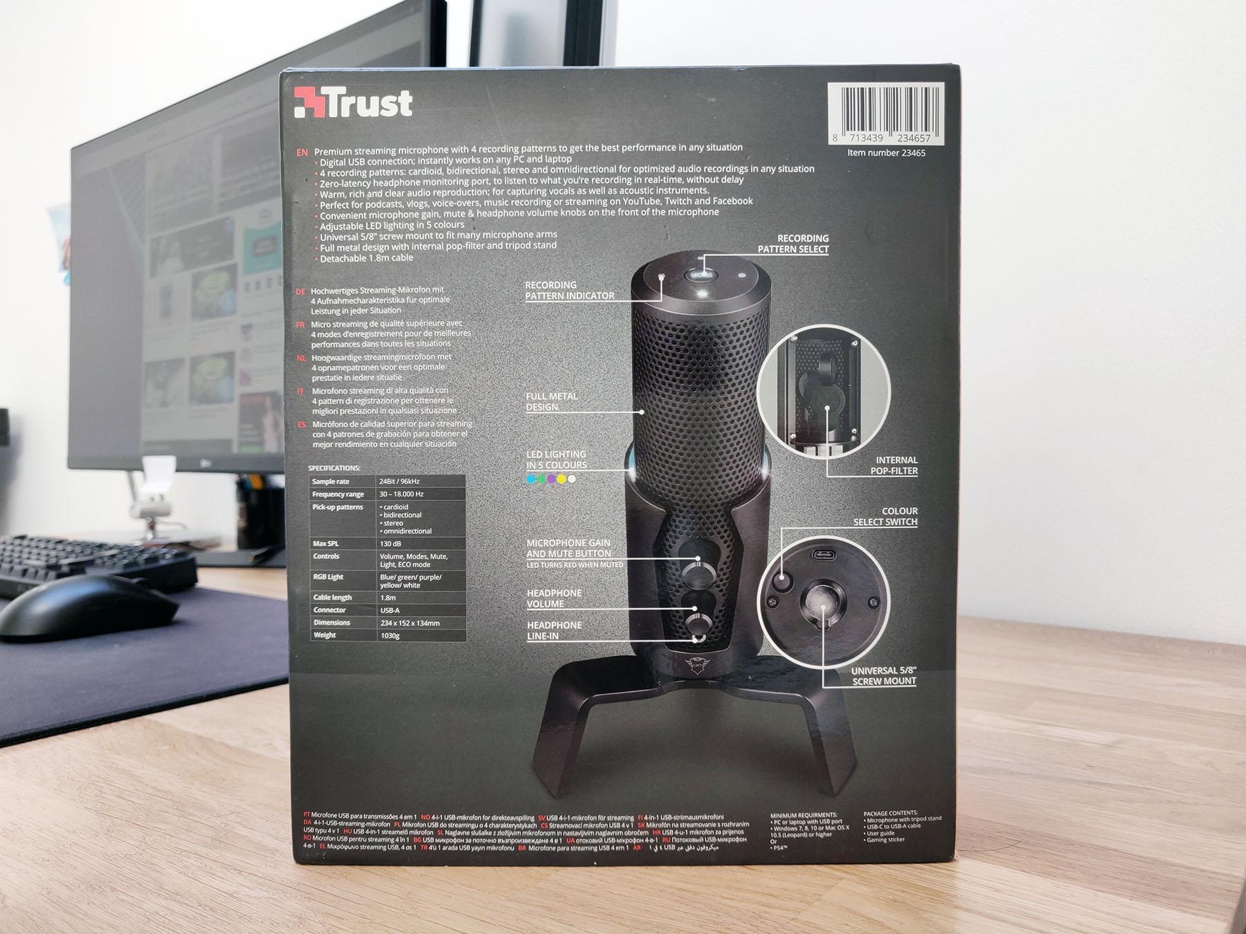 Trust Fyru Gxt 258 Test Micro Box Packaging Back Omgpu