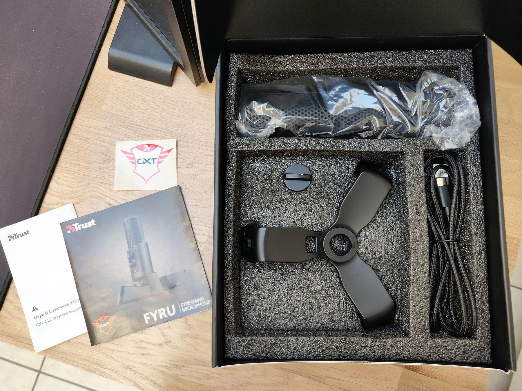 Trust Fyru Gxt 258 Test Micro Box Packaging Bundle Omgpu