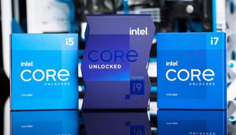 Intel Core 11 Generation Rocket Lake