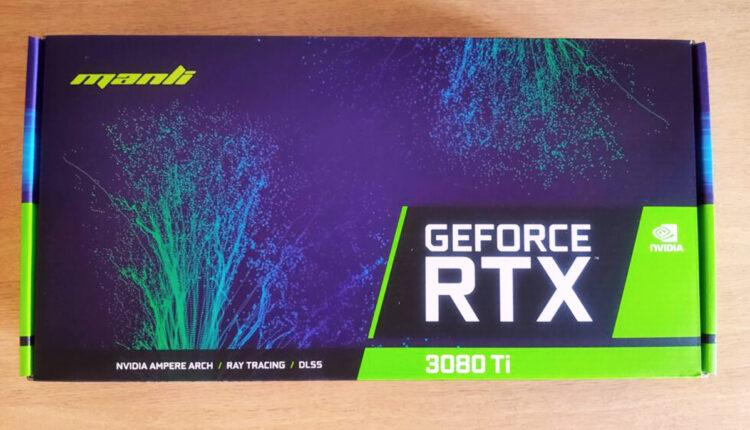 Manli Rtx 3080 Ti Unboxing