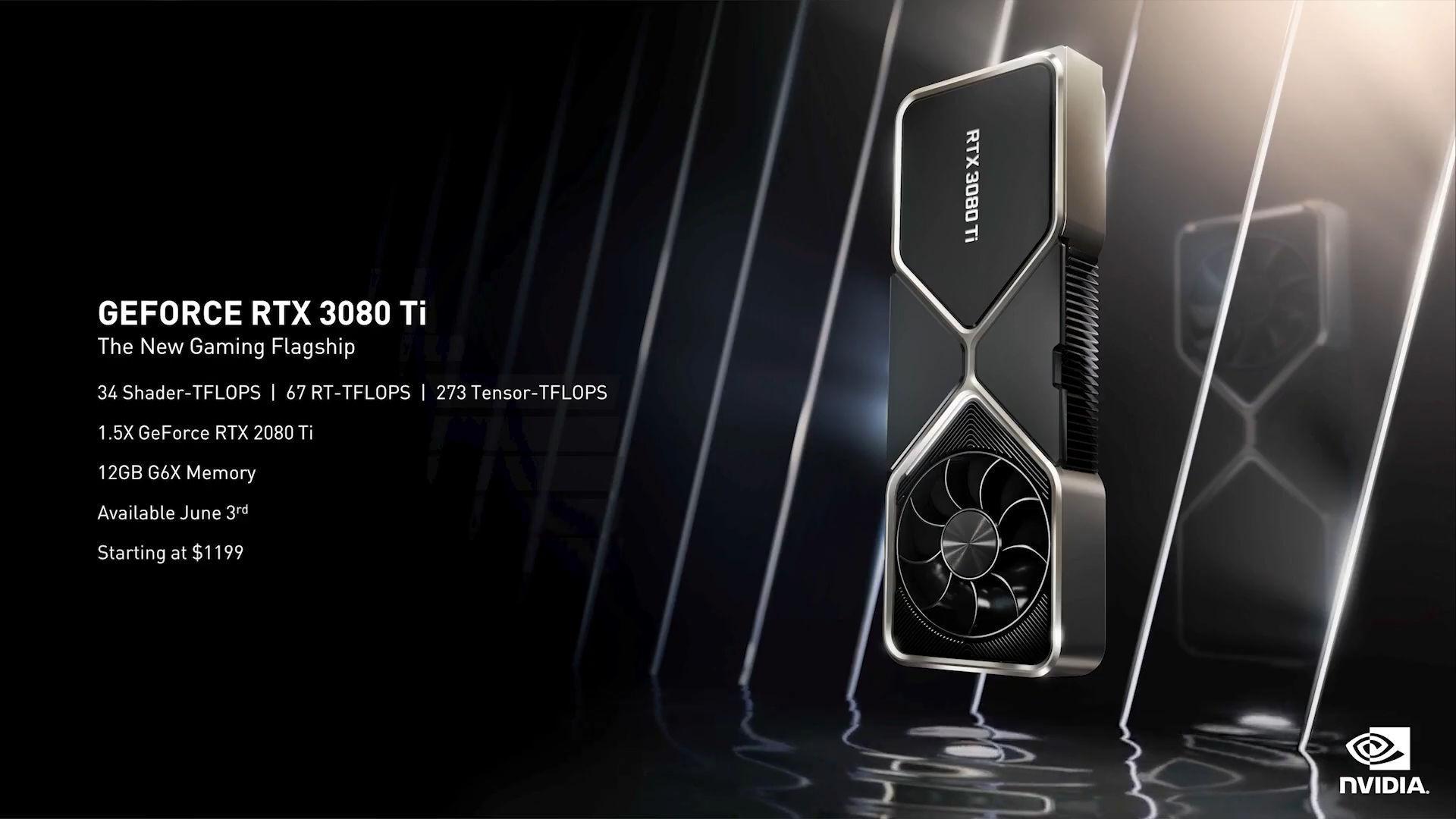 Nvidia Geforce Rtx 3080 Ti Spec