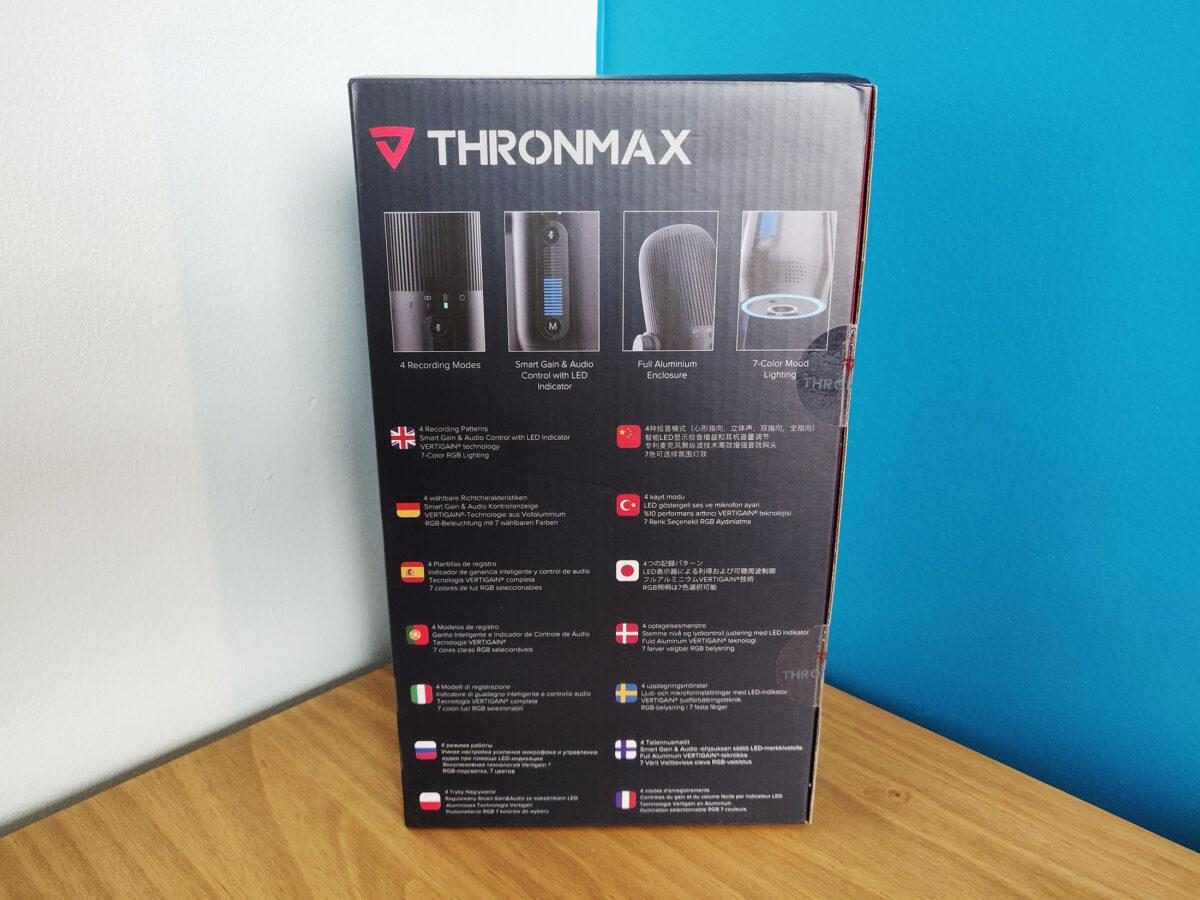 Thronmax Mdrill One Pro Test Box Boite Back Arriere