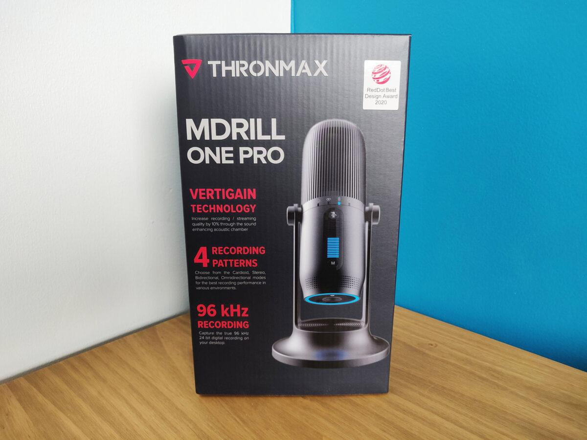Thronmax Mdrill One Pro Test Box Boite Front