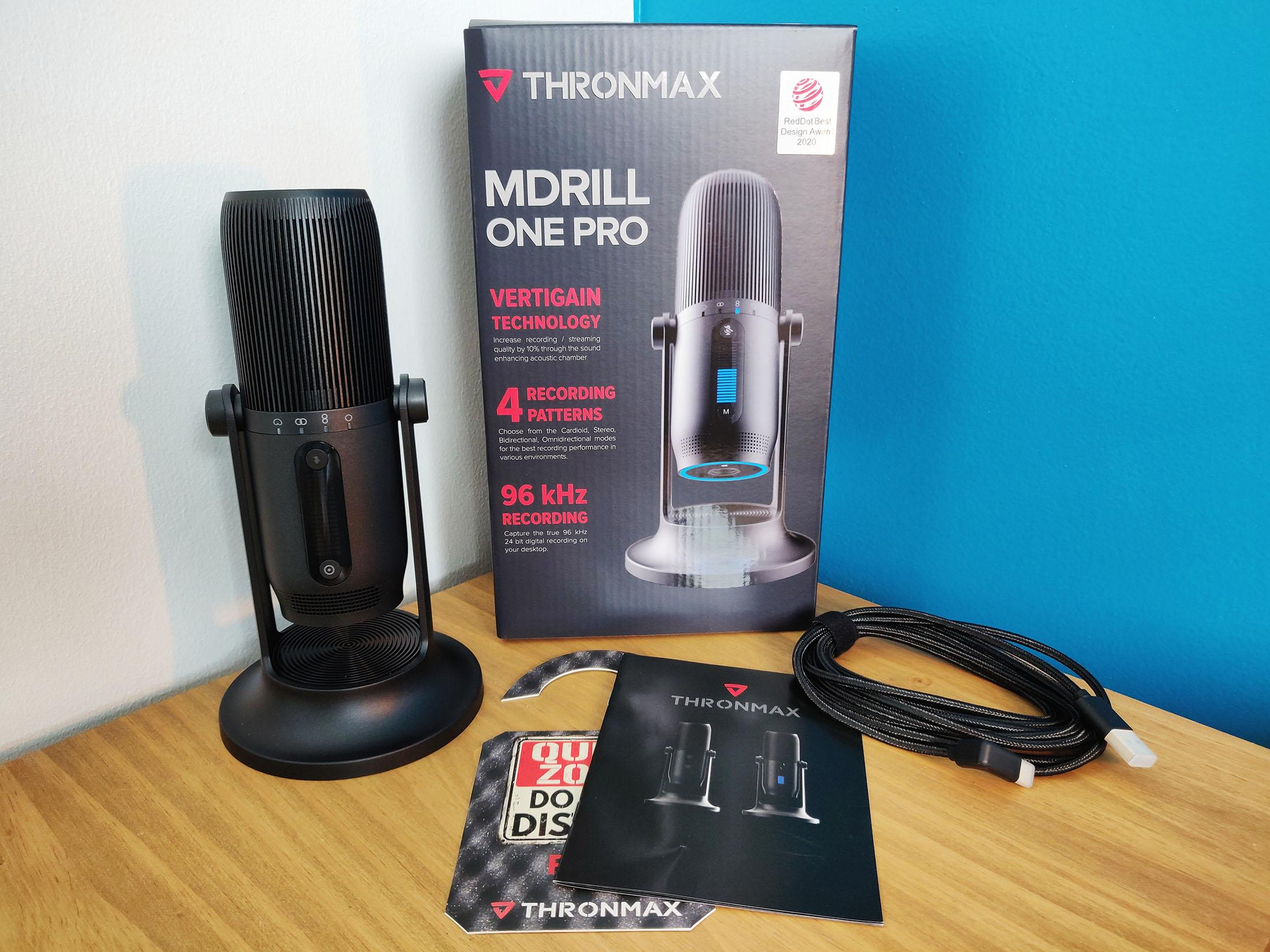 Thronmax Mdrill One Pro Test Bundle