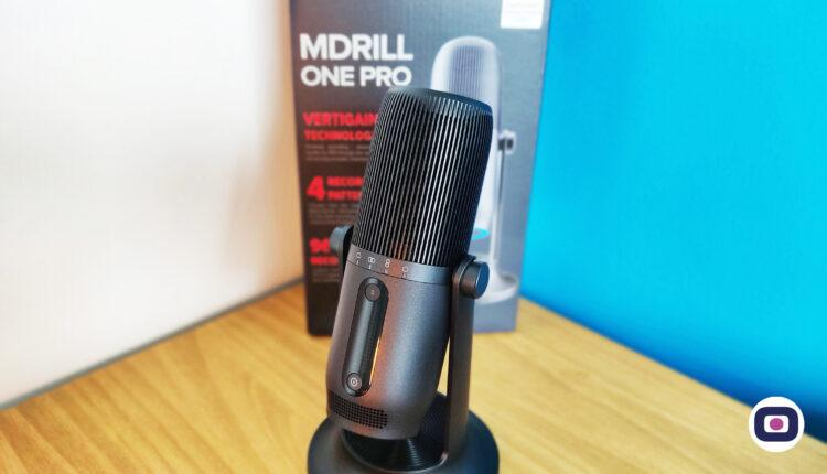 Thronmax Mdrill One Pro Test Micro Streaming Microphone