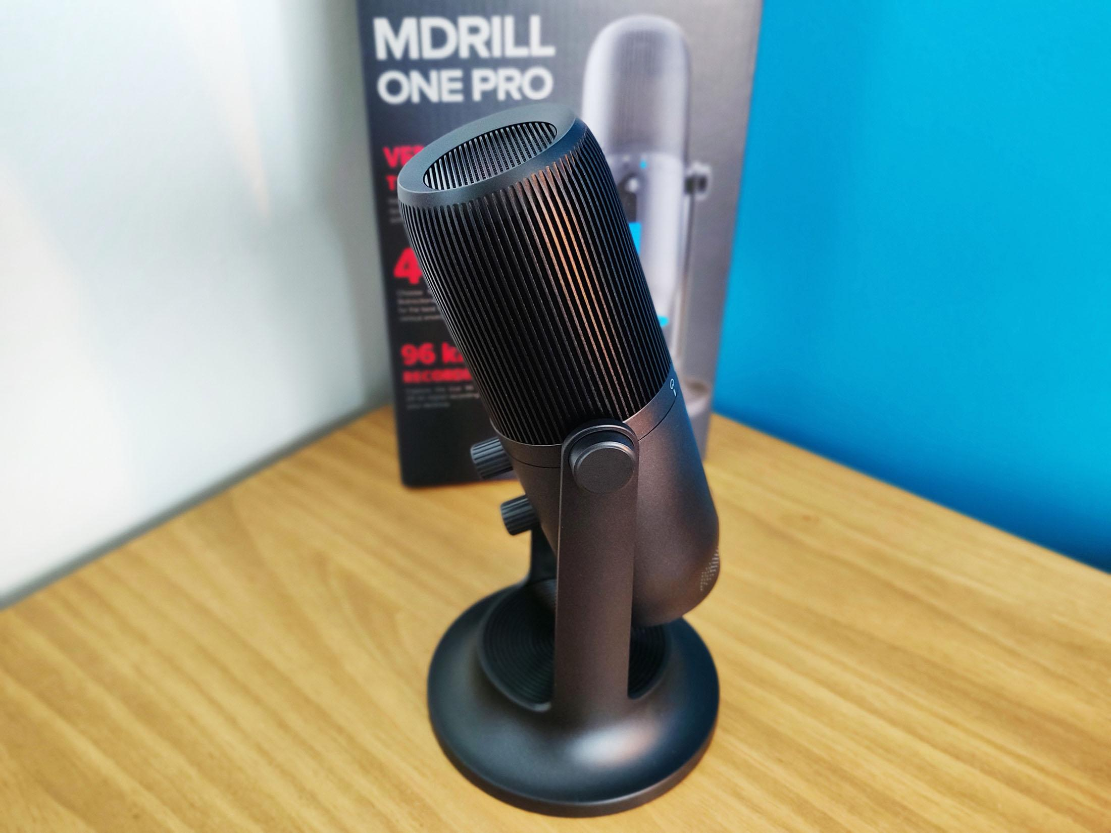 Thronmax Mdrill One Pro Test Microphone