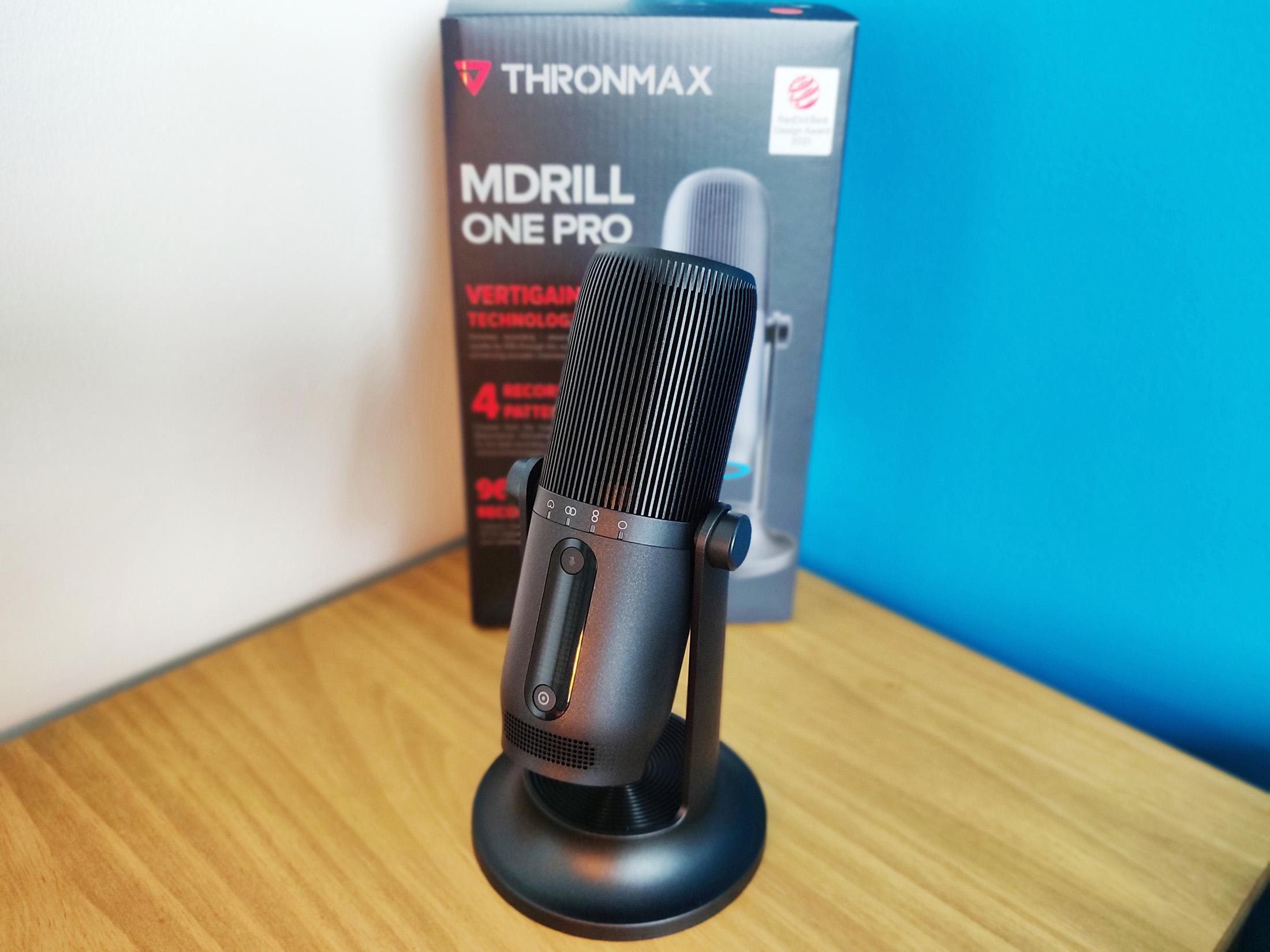 Thronmax Mdrill One Pro Test With Box Avec Boite