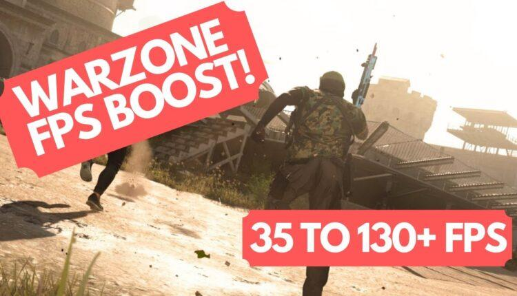 Warzone Fps Boost