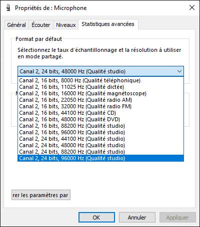 Réglage Qualité Enregistrement Audio Thronmax Mdrill One Pro