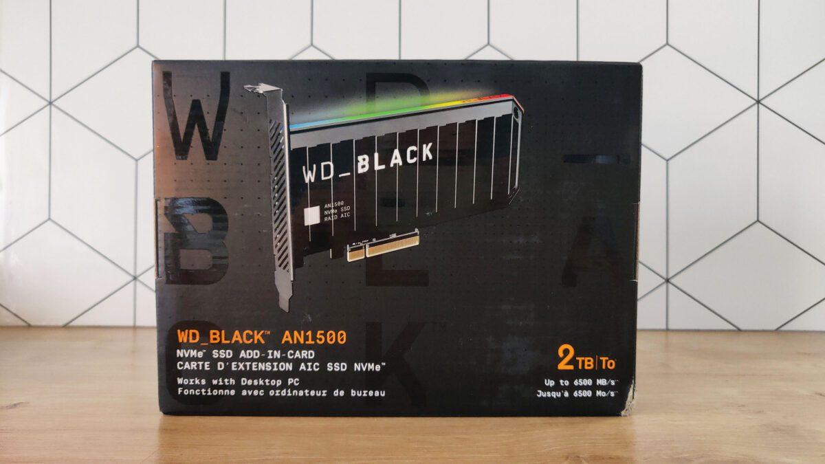 Wd Black An1500 Box