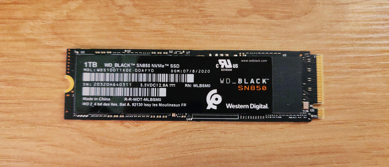 Wd Black Sn850 1to