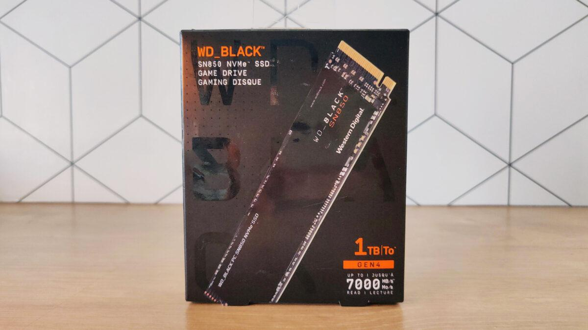Wd Black Sn850 1to Box Packaging Front Face