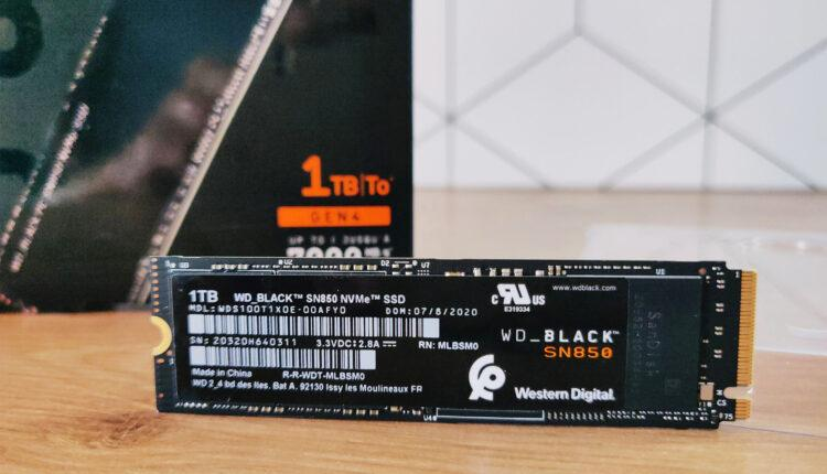 Wd Black Sn850 1to Test