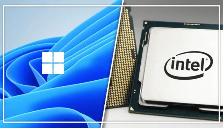 Windows 11 Cpu Processor Processeur Intel
